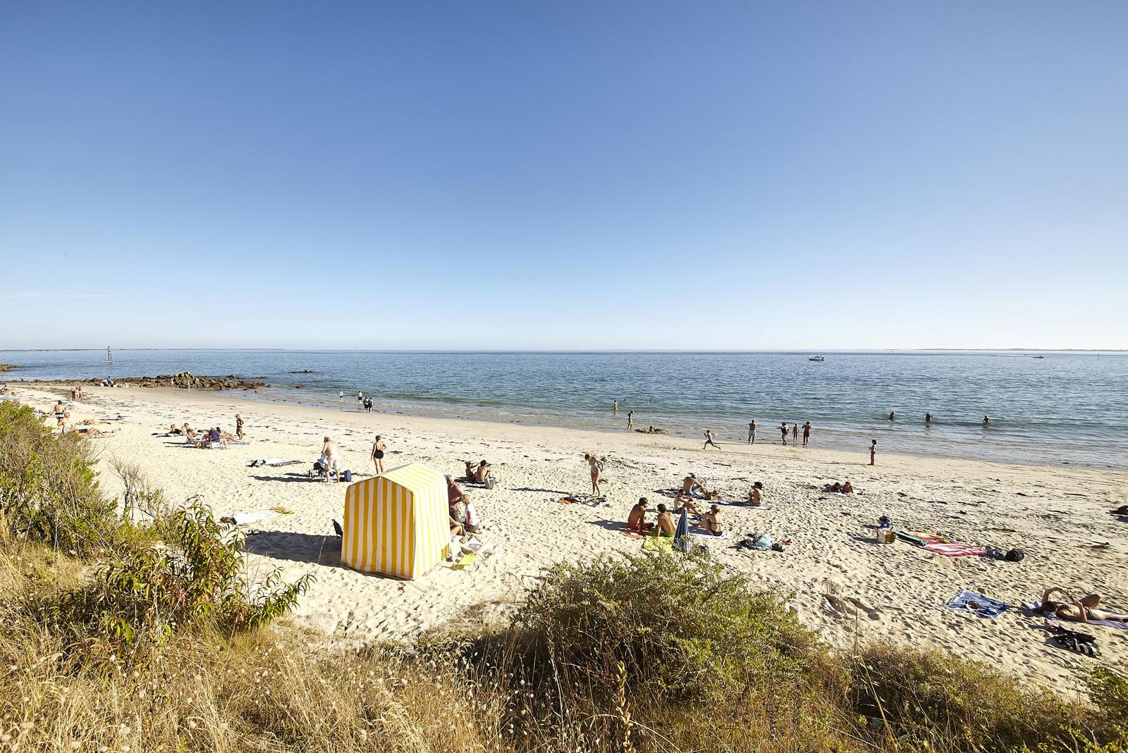 La plage de Légenèse à Carnac