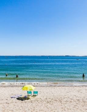 Saint Colomban beach in Carnac