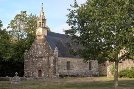 La chapelle de Kergroix à Carnac