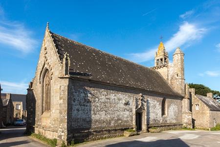 La chapelle de Saint Colomban à Carnac