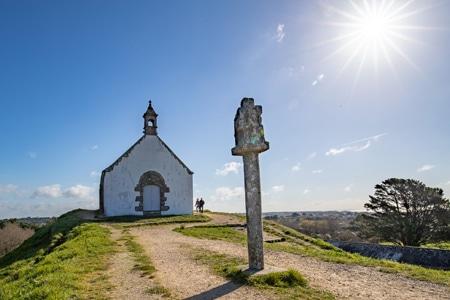 La chapelle et calvaire Saint Michel à Carnac