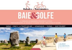 Coffret Baie et Golfe Randonnées et balades à vélo de Carnac à Locmariaquer