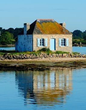 Miason de Saint Cado sur la Ria d'Etel Copyright Le Gal Yannick
