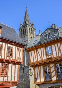 Vannes et son centre-ville historique copyright PIRIOU Jacqueline - Crtb