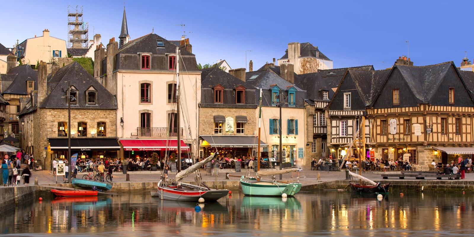 Le port de Saint-Goustan à Auray copyright Simon BOURCIER - Morbihan Tourisme