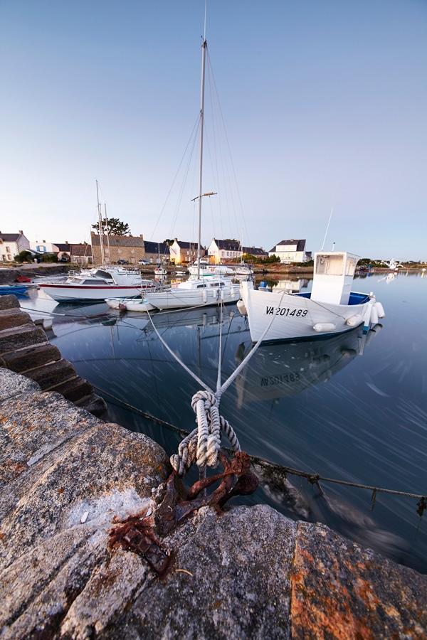 Le Pô à Carnac et ses bateaux