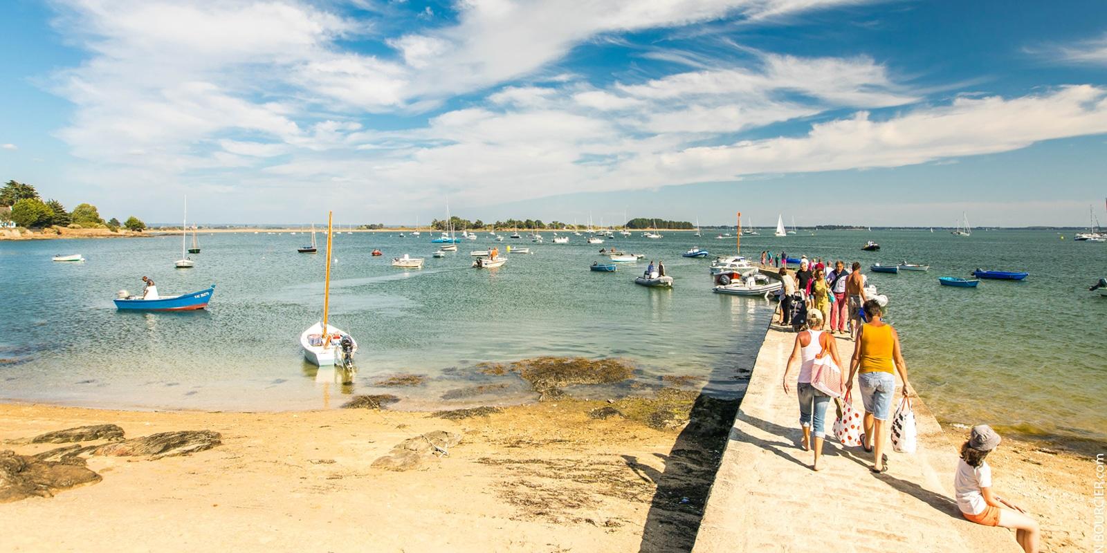 L'île d'Arz dans le Golfe du Morbihan copyright Simon BOURCIER-Morbihan Tourisme