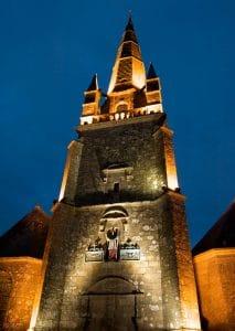 La statue et la légende de Saint Cornély à Carnac