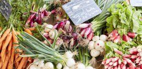 Légumes au marché de Carnac