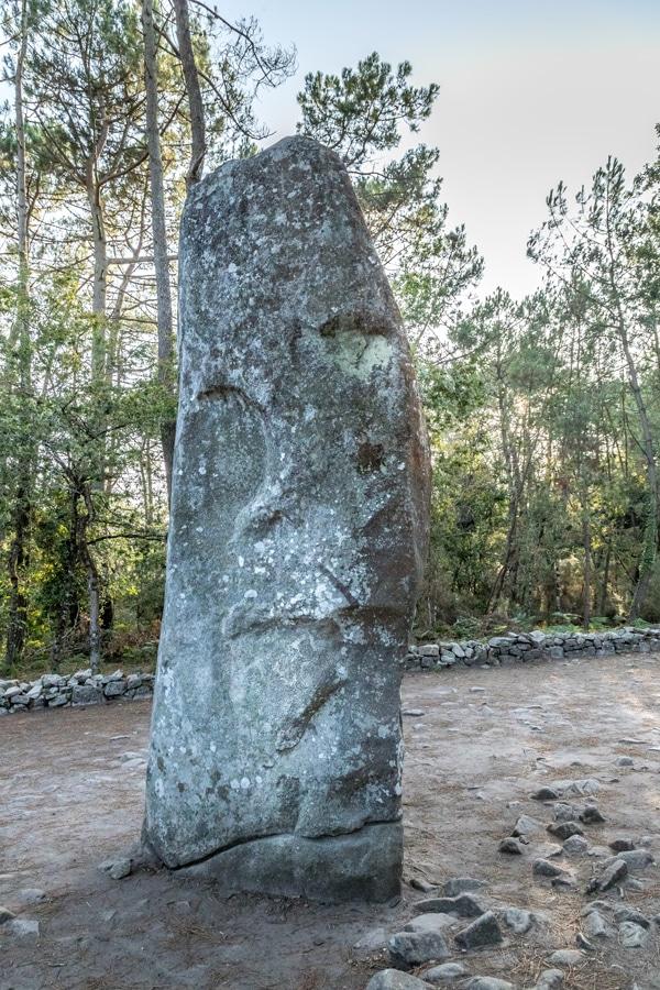 Le menhir Géant du Manio à Carnac