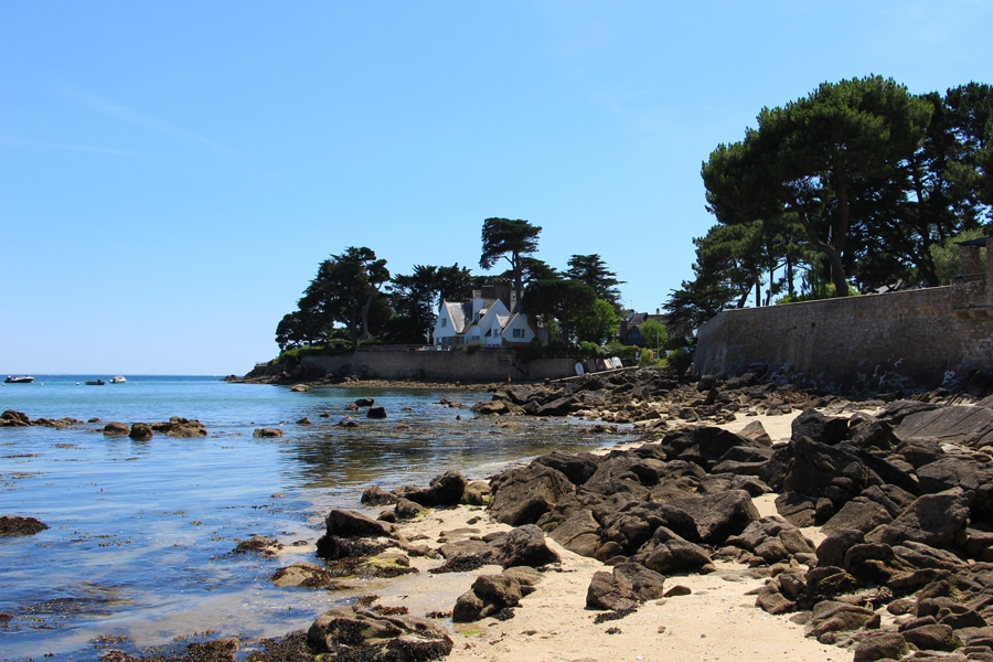 La pointe Churchill à Carnac