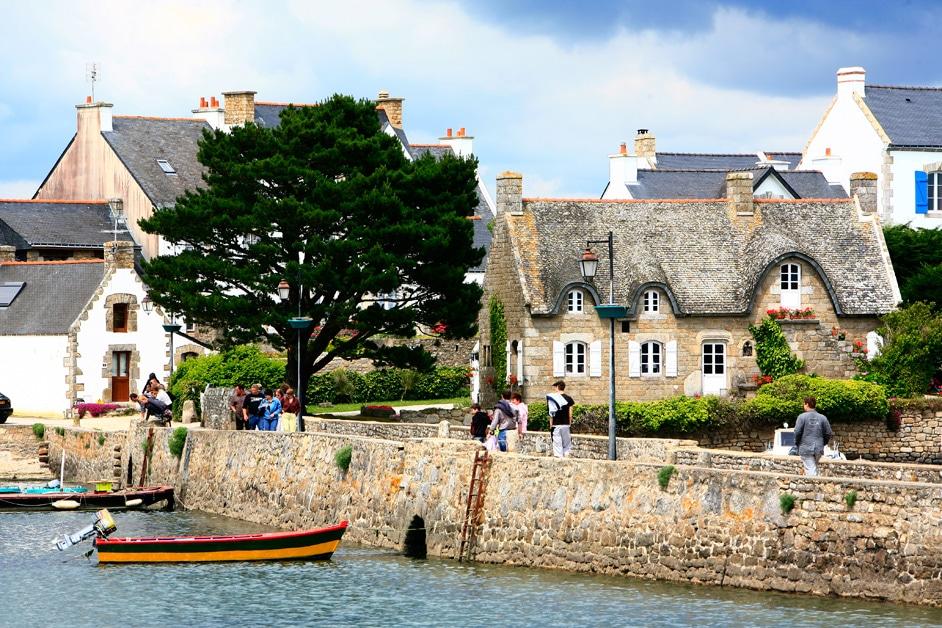 Pont et île de St Cado à Belz Copyright Marc SCHAFFNER - Morbihan Tourisme