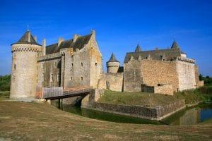 Le château de Suscinio sur la presqu'île de Rhuys copyright Marc SCHAFFNER - Morbihan Tourisme