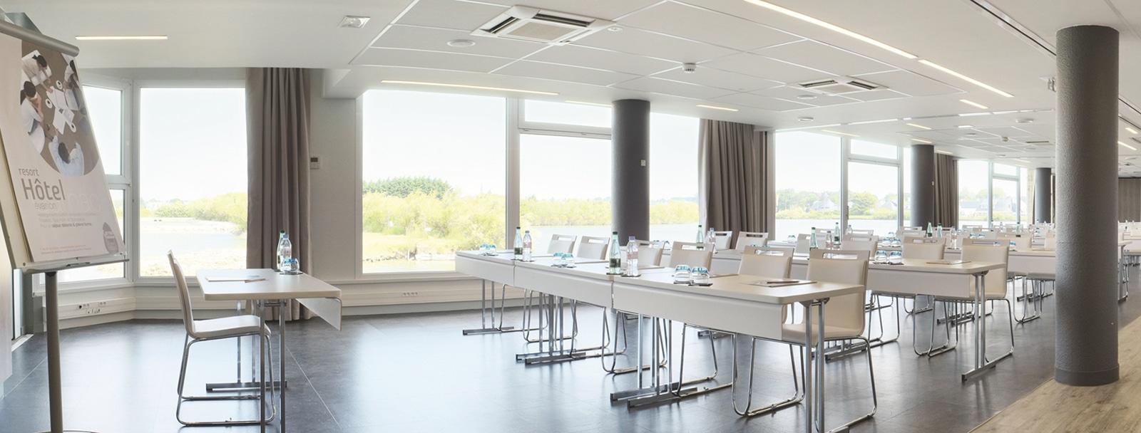 Conference room at the Hôtel Thalazur les Salines at Carnac