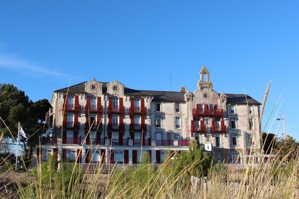 La maison de vacances du CE LCL et ancien grand hôtel à Carnac Plage