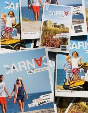 Brochures de l'Office de tourisme de Carnac
