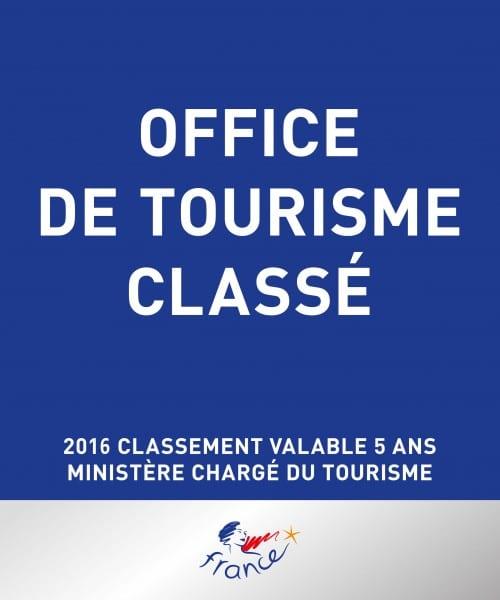 Classement de l'Office de tourisme Carnac