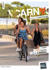 Couverture du guide du partenaire Office de tourisme de Carnac