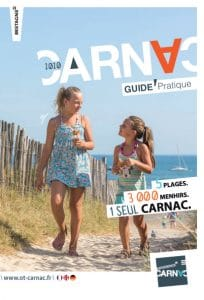 Page de couverture du guide pratique Carnac
