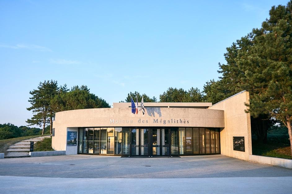 Maison des mégalithes Carnac copyright Thomas Thibaut-Centre des monuments nationaux