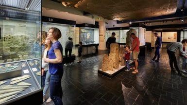 Musée de Préhistoire à Carnac et d'autres sorties culturelles en famille dans le Morbihan ©Laurent RANNOU
