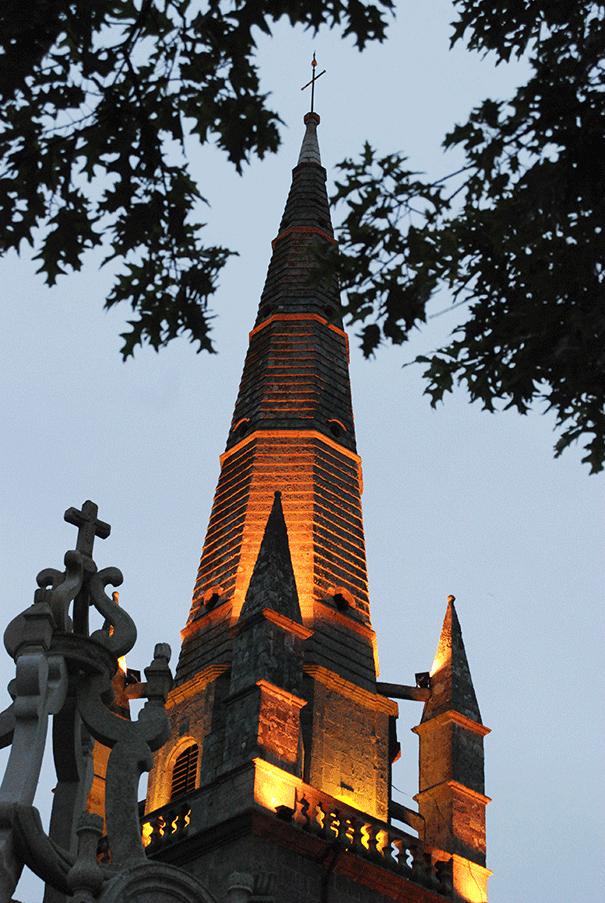 Clocher de Saint Cornély à Carnac
