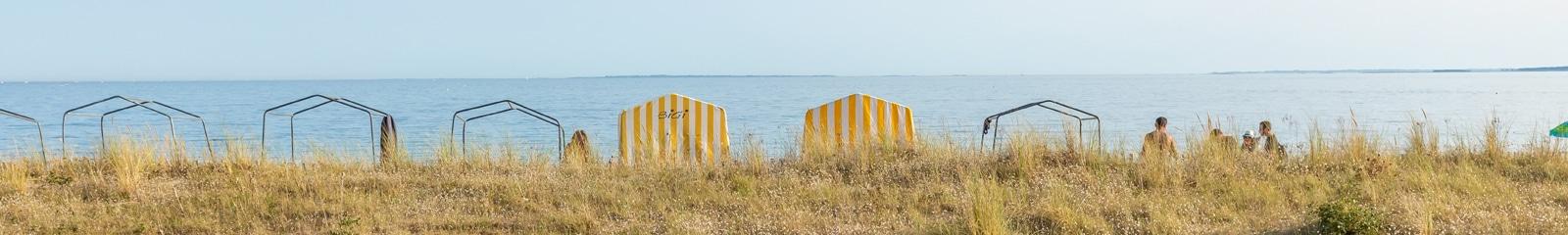 Tente bord de mer Carnac Philippe Meunier