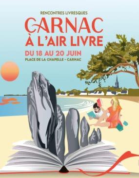 Salon du livre Carnac À l'air Livre 2021